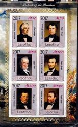 Красивые марки Президенты США