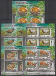 Красивые марки фауна - 3