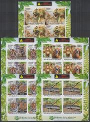 Красивые марки фауна Африки-2