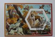 Набор марок Собаки 2014