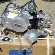 Двигатель (Мотор) мопедов Дельта,  Альфа,  Актив 110сс