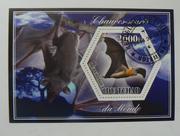 Набор марок Летучие мыши 2014