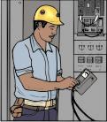 На предприятие требуется электрик
