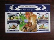 Красивые марки фауна Обезьяны