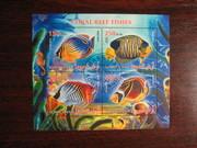Красивые марки Морская фауна