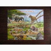 Красивые марки фауна Африки-3