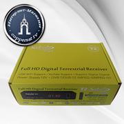 Цифровой эфирный тюнер Satcom T501 T2 Full HD (2 USB,  Б/П 12-V)