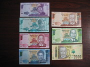 Набор банкнот Малави UNC