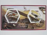 Набор марок Самолеты 2014