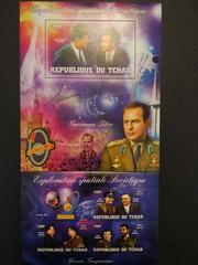 Красивые марки Советские космонавты