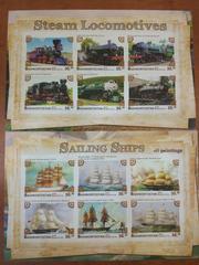 Красивые марки транспорт Россия