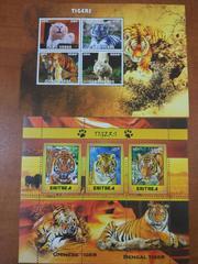 Красивые марки Тигры