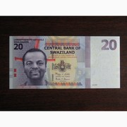 20 эмалангени Свазиленда 2010 UNC
