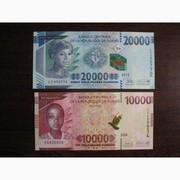 Банкноты Гвинеи UNC