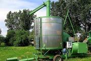 Зерносушилка мобильная передвижная,  зерносушка,  зерносушарка,  сушка