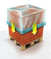 Термоусадочные мешки чехлы для поддонов и паллет