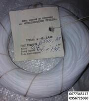Трубка фторопластовая Ф-4Д-Э 0, 5х0, 2Т ,  1, 2х0, 3Т,  2х0, 3Т,  термообработ
