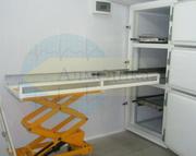 Столы для аутопсии и тележки гидравлические для морга под заказ