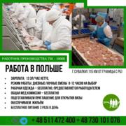 Работа в Польше на производстве муж + жен