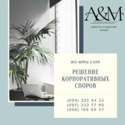 Решение корпоративных споров,  адвокат Харьков,  юрист