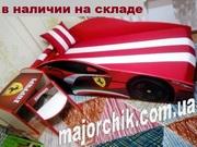Кровать машина Элит с матрасом + подушка в ПОДАРОК + доставка