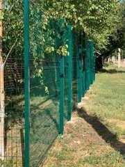 Ограждение из сварной сетки,  3D забор,  ворота.