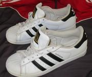 Продам легендарные кроссовки ADIDAS SUPERSTAR оригинальные 100 %, 43 p