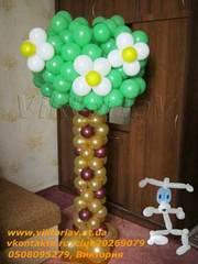 Оформление,  украшение воздушными шарами в Харькове и области. Скидки!