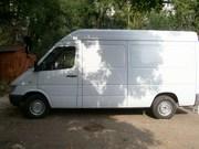Продам грузовой микроавтобус мерседес
